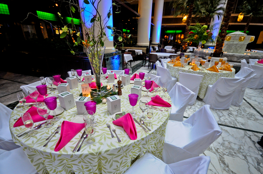 Tropical Wedding Ideas Reception