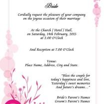 Unique Wedding Invitation Wording Kerala Christian