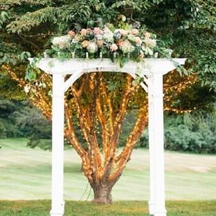 Wedding Arch White
