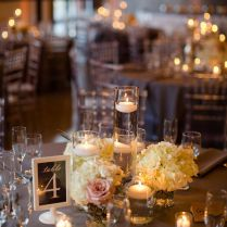 Wedding Candle Centerpieces Home Design Ideas 50th Anniversary No
