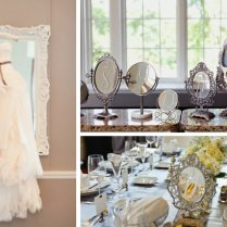 Wedding Decor Ideas Outdoor Weddings With Mirrors