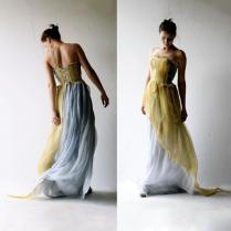 Wedding Dress, Alternative Wedding Dress, Boho Wedding Dress