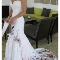 Wedding Dress Ideas Skull Or Camouflage