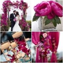 Wedding Invitations And Decorating Ideas For A Fuchsia Garden