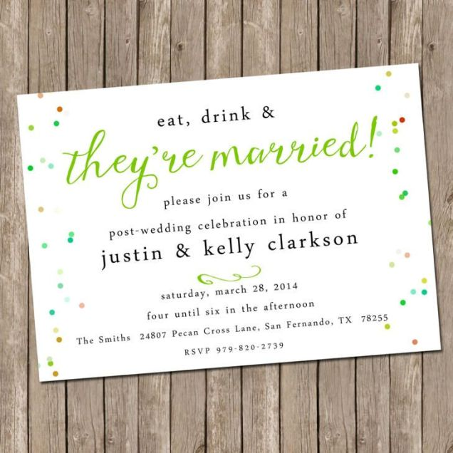 Wedding Party Invitations Best 25 Wedding Reception Invitations