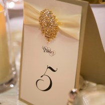 Wedding Table Numbers, Place Cards And Menu's
