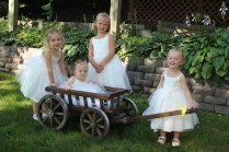 Wedding Wagon For Flower Girl Medium Flower Girl Wedding Wagon