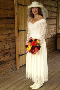 Western Bridal Gownswedding