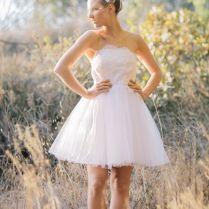 Western Wedding Dresses Short – Watchfreak Women Fashions