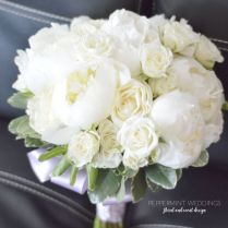 White Rose Bouquets For Weddings Best 25 White Rose Bouquet Ideas