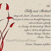 Wonderful Blended Family Wedding Invitations Iloveprojection