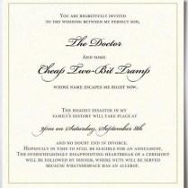 Wonderful Fun Wedding Invitation Wording 15 Funny Wedding