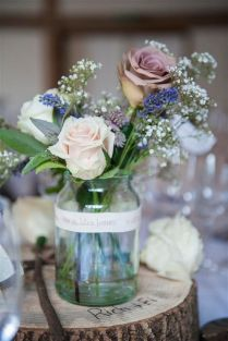 Wonderful Wedding Table Decorations Jam Jars 56 For Your Wedding