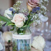 Wonderful Wedding Table Decorations Jam Jars 56 For Your Wedding