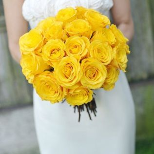 Yellow Roses Wedding Bouquet 25 Best Yellow Rose Bouquet Ideas On
