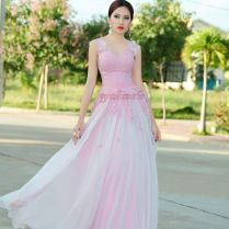 You Could Use This Ladies Gown To Join Khmer Wedding Celebration