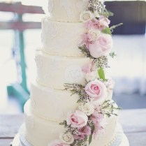 25 Amazing Floral Wedding Cake Ideas