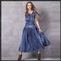 Blue Jean Wedding Dress