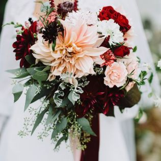 Burgundy Flowers For Weddings Best 25 Burgundy Wedding Flowers
