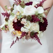 Burgundy Wedding Bouquets Best 25 Burgundy Flowers Ideas On