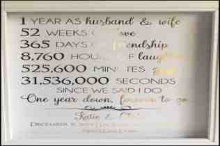 First Year Wedding Anniversary Gifts For Him Evgplc Com