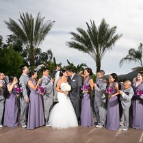 Grey And Lavender Wedding