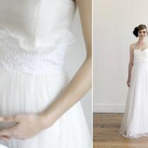 Handmade Wedding Dresses Etsy Bridal Gowns 1