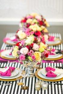 Kate Spade Inspired Wedding Glamorous Kate Spade Inspired Wedding