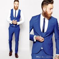 Men Wedding Suits Custom Made Slim Fit Suit Tailor Made Suit Best