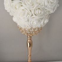 Mickey Flower Ball, Kissing Ball Bouquet Wedding Centerpiece