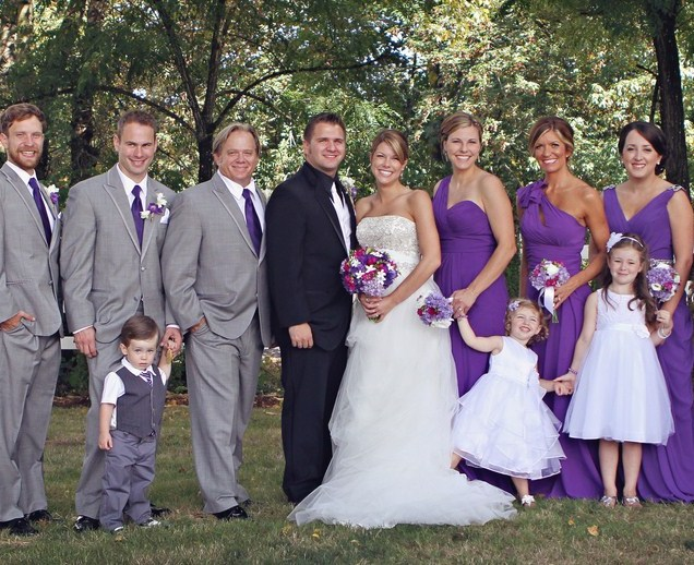 Purple And Grey Wedding Purple And Grey Wedding Plans To Add Chic