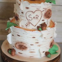 Wedding Cakes » Charity Fent Cake Design
