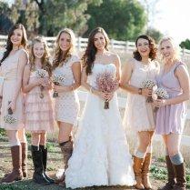Western Themed Wedding Dress