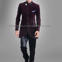 Men New Stylish Party Wear Groom Designer Jodhpuri Wedding Tuxedo