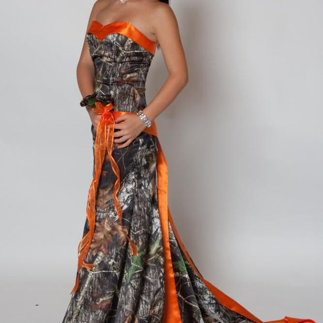 Camouflage Wedding Dresses For Cheap