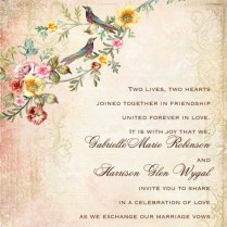 A Guide To Wedding Invitation Wording Etiquette