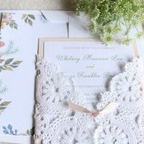 Anne Of Green Gables Garden Theme Wedding Invitations – Tanja Maduzia