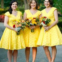 Retro Yellow Wedding