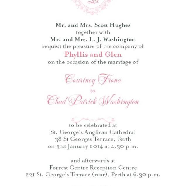 Catholic Wedding Invitations: Roman Catholic Wedding Invitation Wording