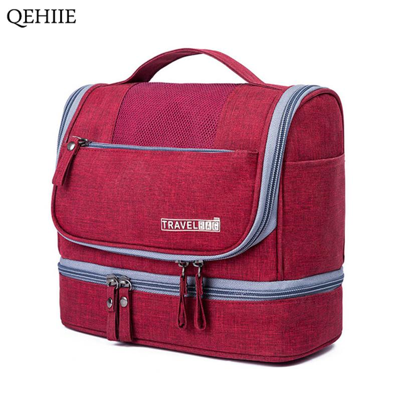9c1ba56514c5 Designer Hanging Toiletry Bag Travel Cosmetics Bag Waterproof. Elegant Business  Men Toiletry Bag Travel Organizer ...
