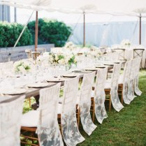 Wedding Chair Covers That Aren't At All Cheesy—we Promise!