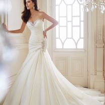 Sexy Mermaid Wedding Dresses With Sweetheart Neckline
