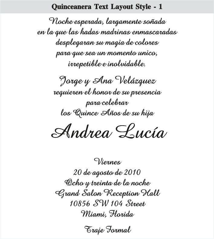 Quinceanera Quotes For Invitations
