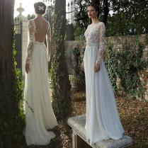 Turmec » Long Sleeve Wedding Dresses Designer