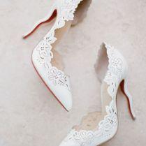 Vintage Wedding Shoes For Bride Over Times
