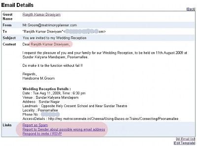 Wedding Invitation Subject Line Email
