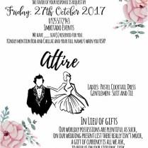 Waw Wedding Tip Sheet Invitations – Weddings At Work