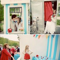 Doug Paige's Fun Carnival Real Wedding