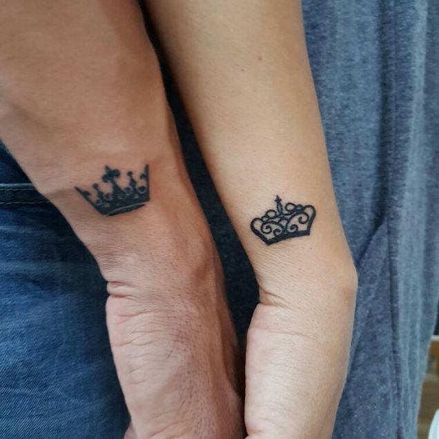 Image Result For Couples Tattoos Small
