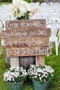 39 Perfect Rustic Wedding Ideas